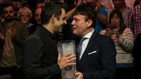 Шампионът в Откритото първенство на Англия по снукър Рони О'Съливан