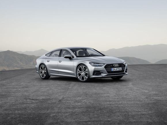 Новият Audi A7 Sportback отразява в особена степен новия стилистичен
