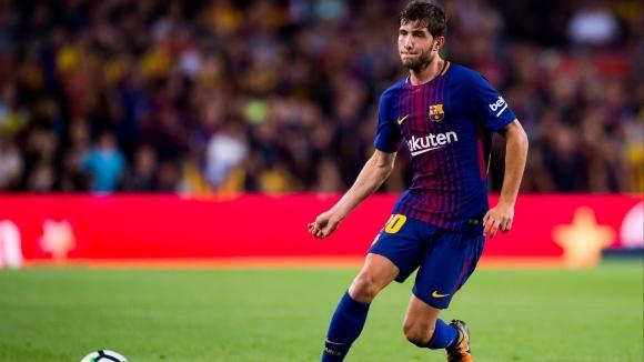 Мултифункционалният футболист на Барселона Сержи Роберто може да остане извън
