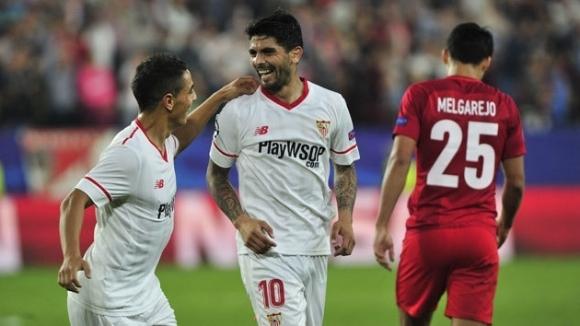 Отборът на Севиля изкова ценна победа с 2:1 у дома
