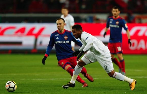 Локомотив (Москва) и ЦСКА (Москва) завършиха 2:2 в драматично столично