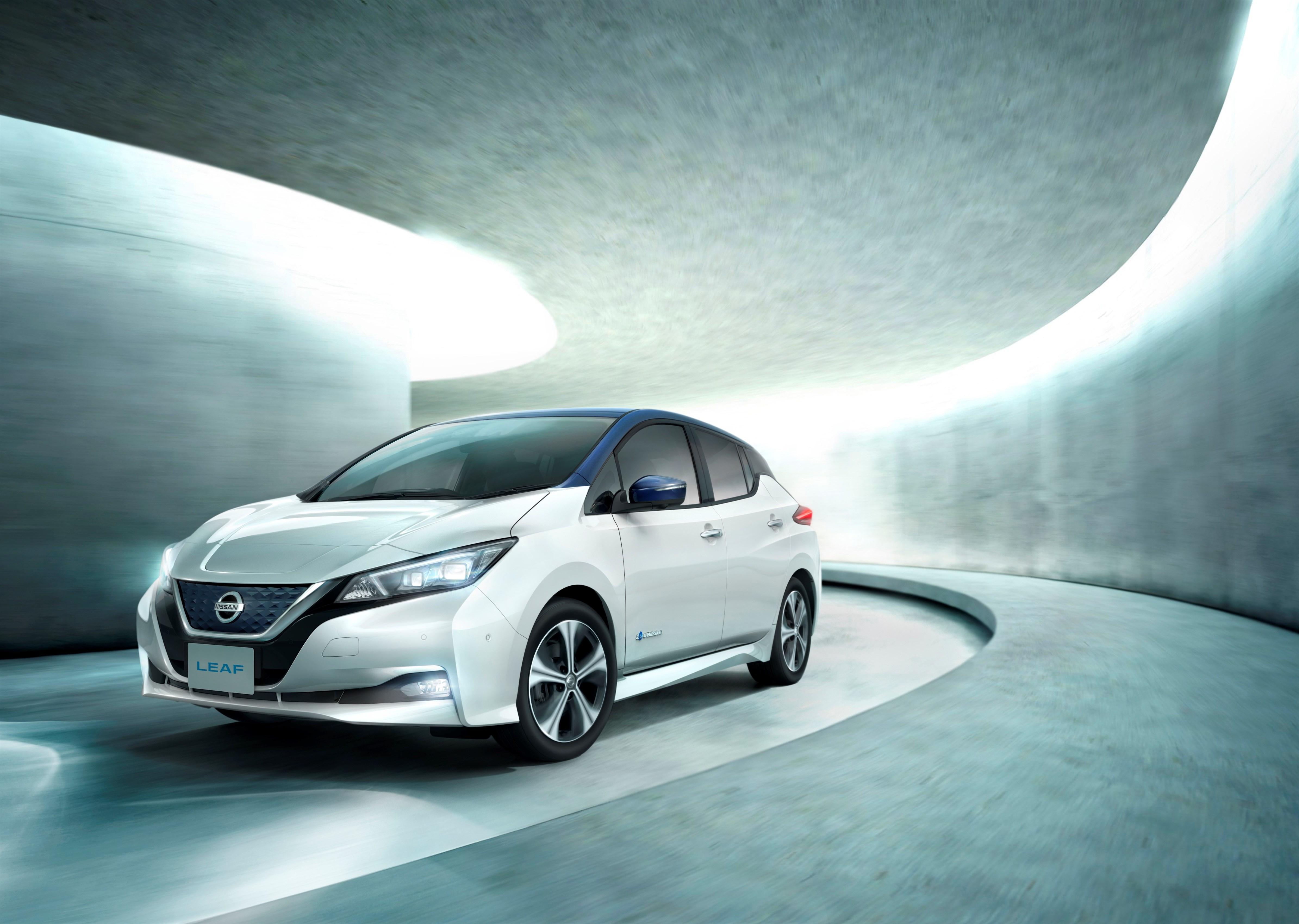 Новият Nissan LEAF пристигна в България преди няколко седмици и