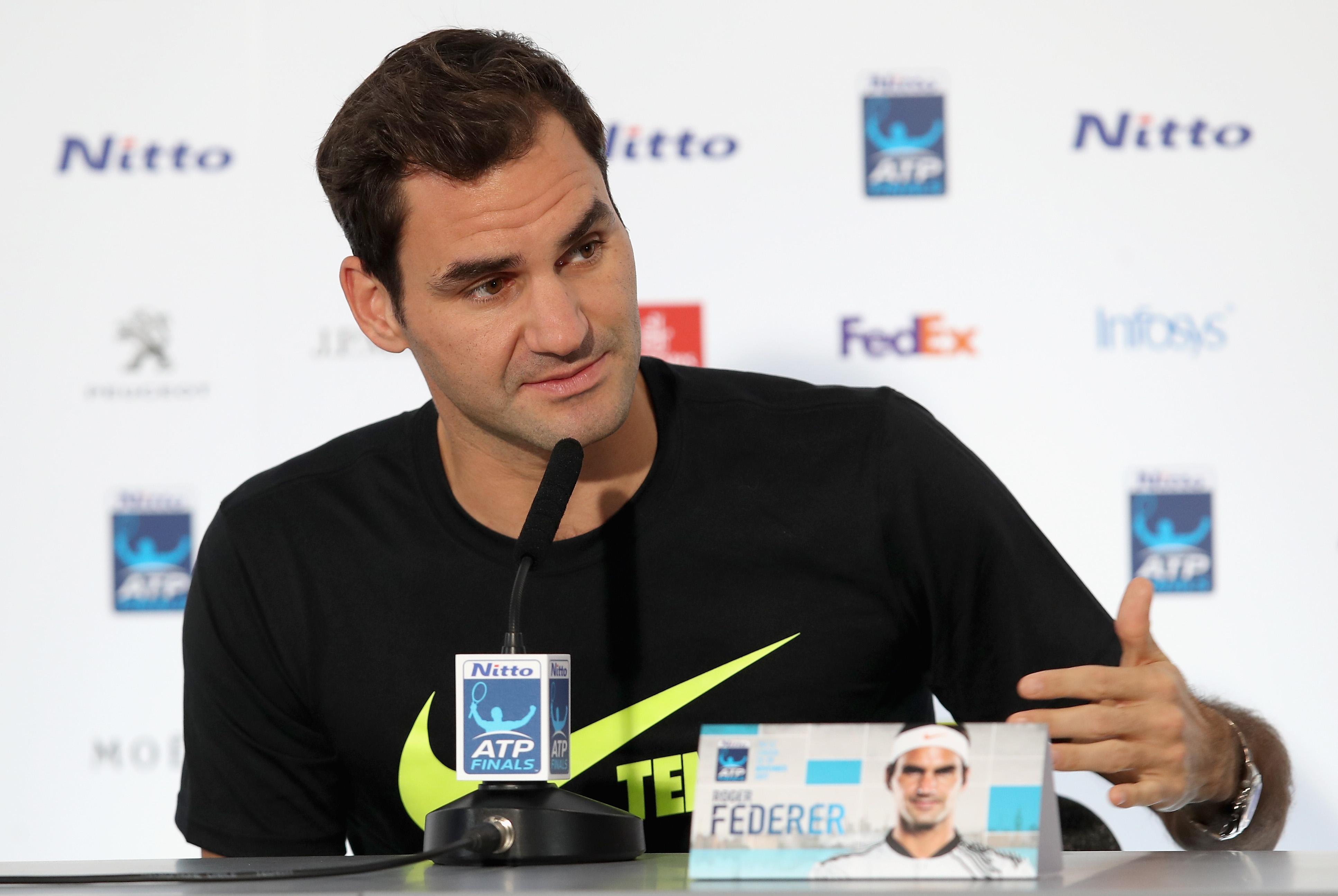 Роджър Федерер сподели всеобщото мнение, че тази година е сред