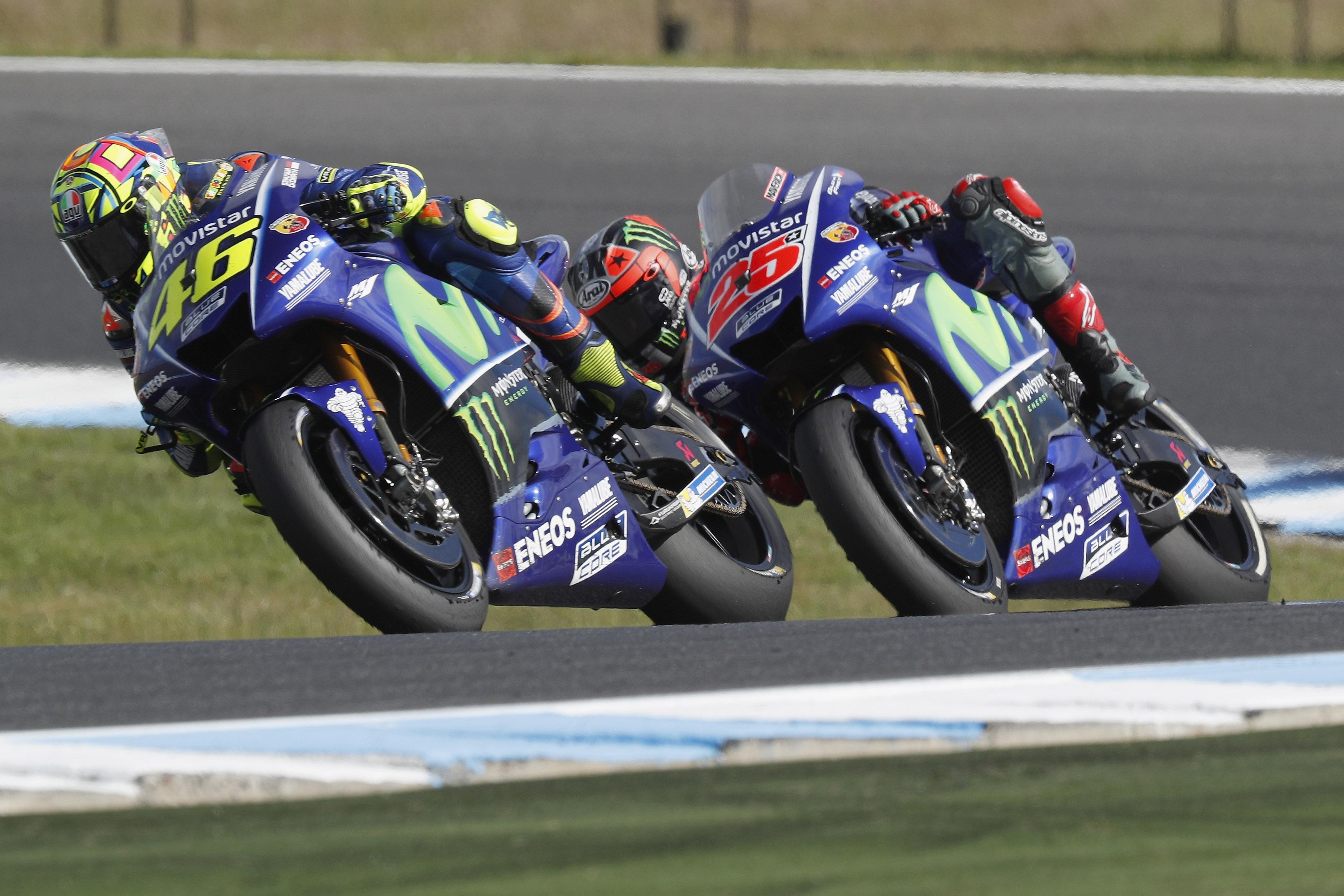 Шефовете на заводския тим на Yamaha признаха, че Валентино Роси