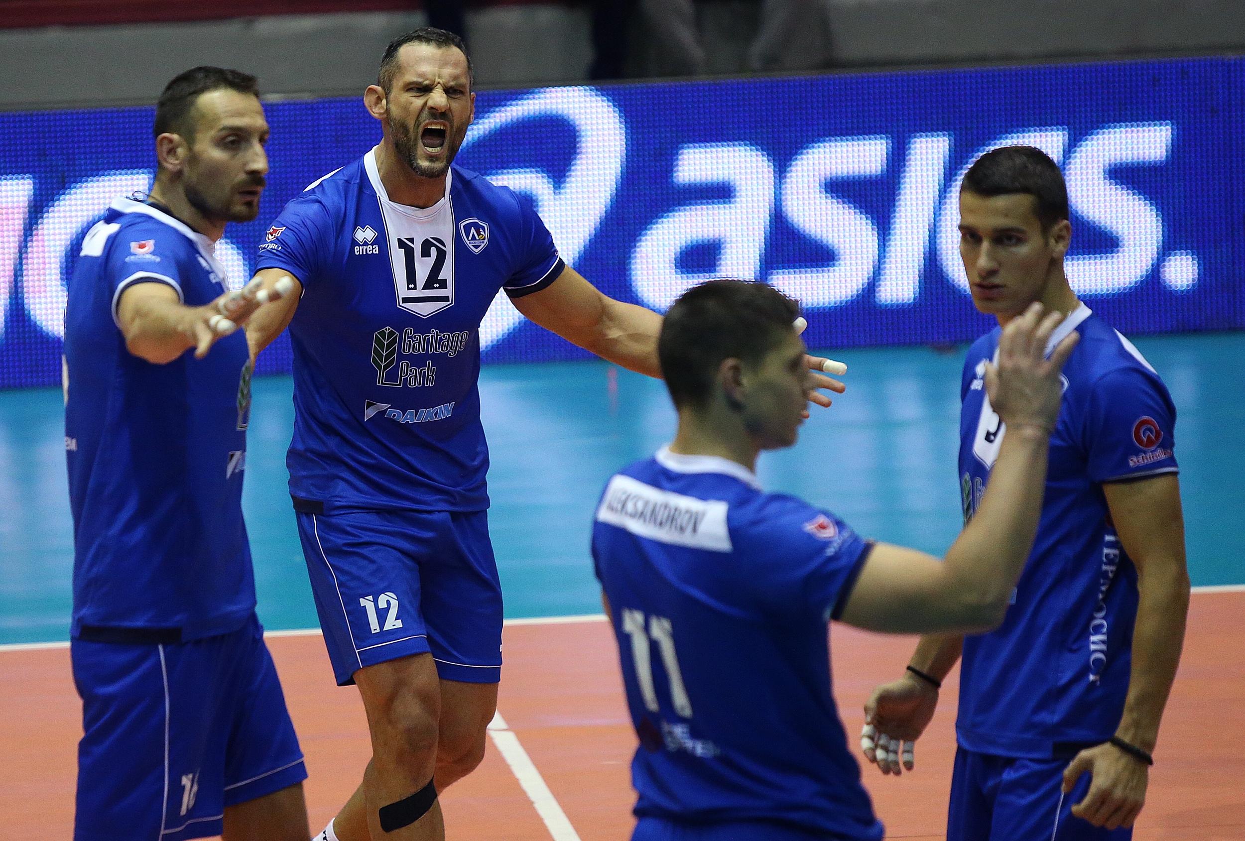Волейболният отбор на Левски записа едва 3-а победа от началото
