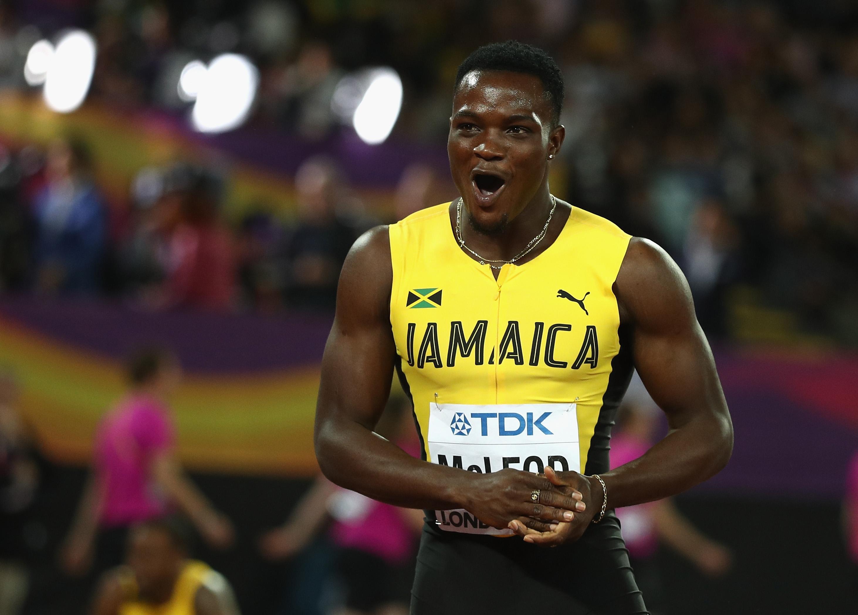 Световният и олимпийски шампион на 110 метра с препятствия Омар