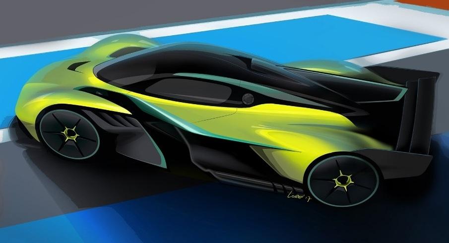 Aston Martin напредва с работата върху новата версия на хиперавтомобила