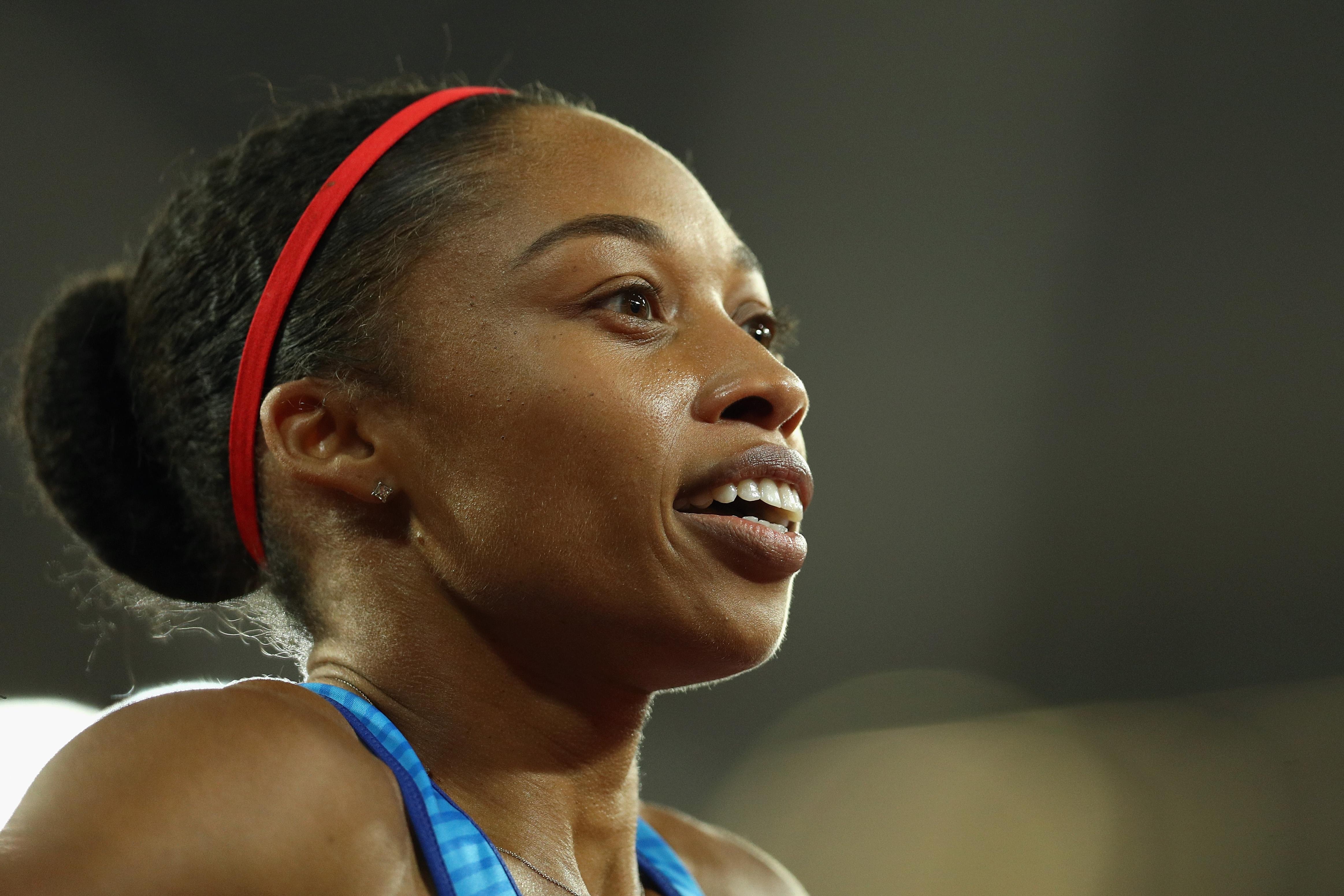 Американската спринтьорка Алисън Филикс, атлетката с най-много медали на Олимпийски