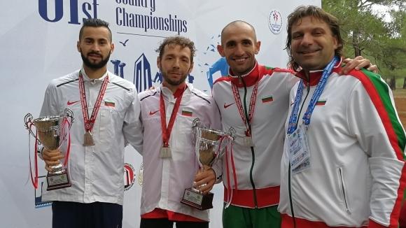 Българските състезатели завоюваха две купи в отборното класиране на балканския