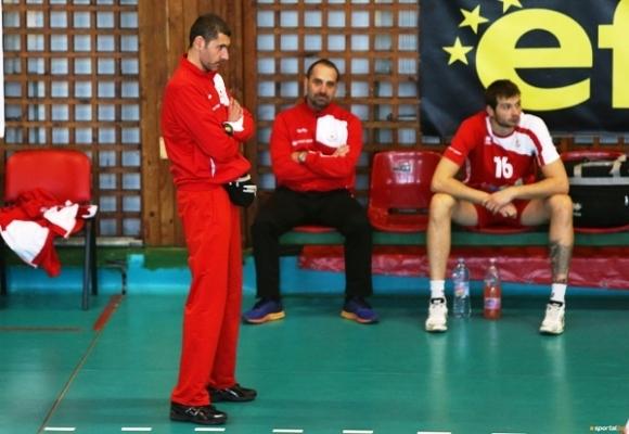 Наставникът на волейболния ЦСКА Александър Попов заяви, че трите точки