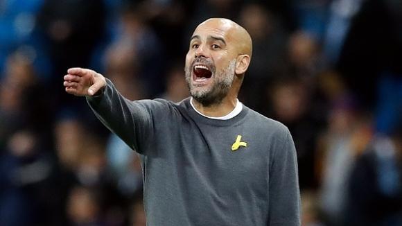 Мениджърът на Манчестър Сити Джосеп Гуардиола не остана особено доволен