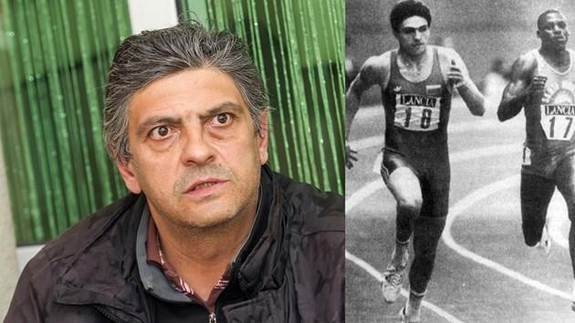 Най-бързият бял човек в света, българинът Николай Антонов-Таланта, който
