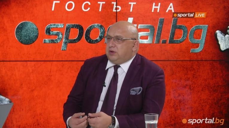 Министърът на младежта и спорта Красен Кралев представи проекта за