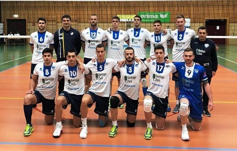Волейболният отбор на Левски стартира с победа участието си в