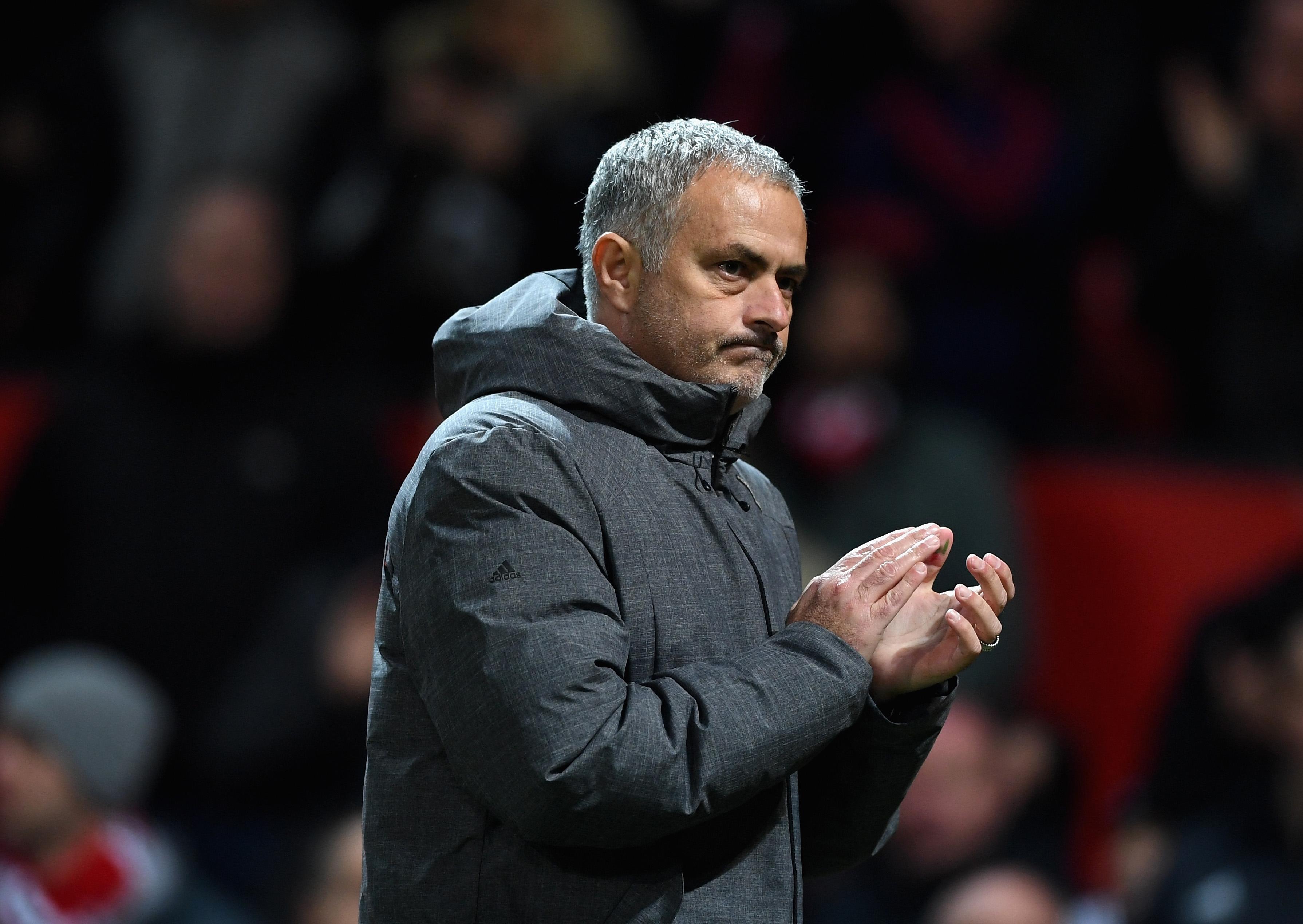 Мениджърът на Манчестър Юнайтед Жозе Моуриньо не показа притеснение след