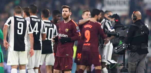 За първи път в историята си Барселона регистрира две поредни