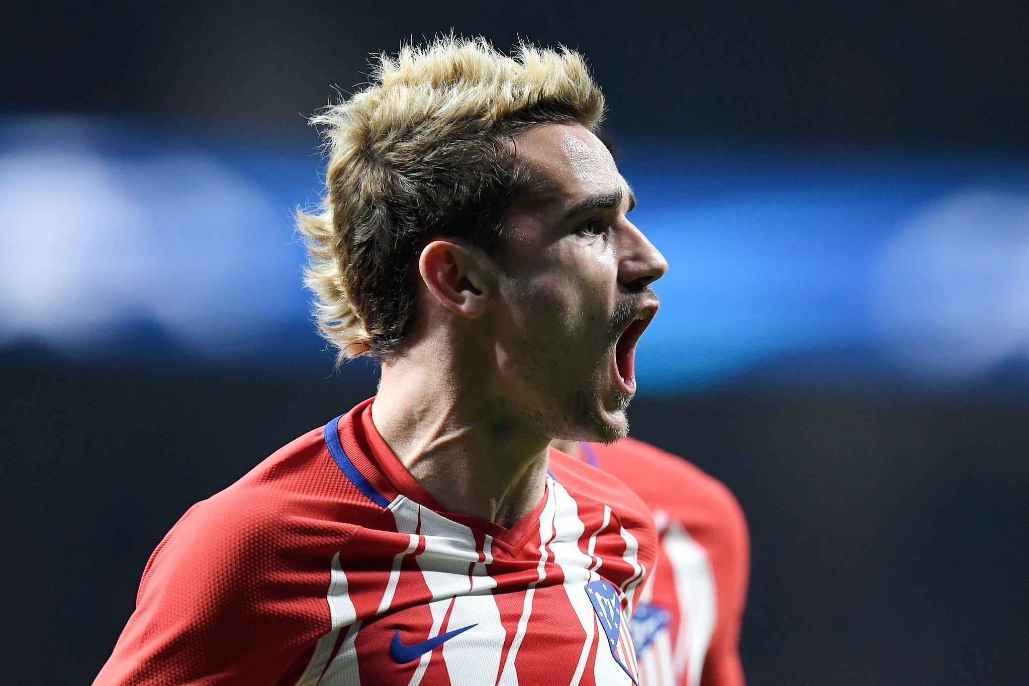 Френският нападател на Атлетико Мадрид Антоан Гризман не се намира