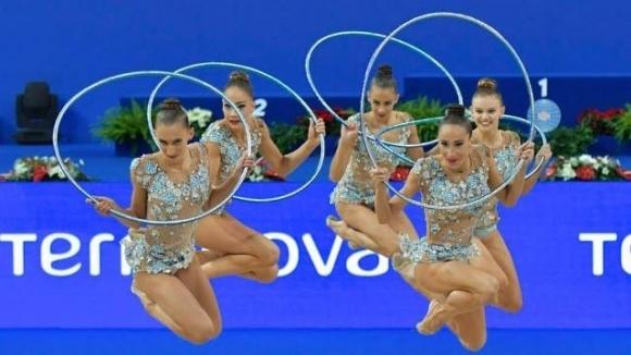 Националният отбор по художествена гимнастика проведе открита подиум тренировка в