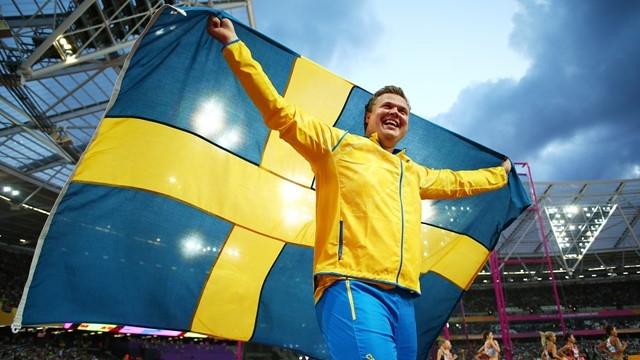 Даниел Щол беше избран за Атлет №1 в Швеция за