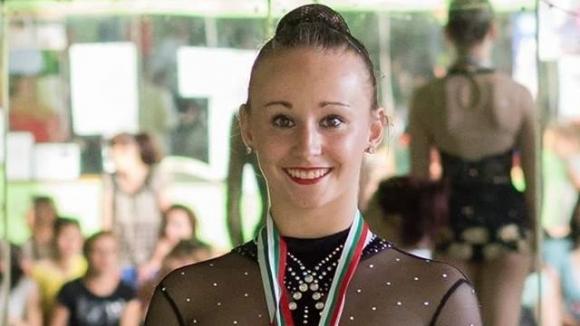 Лора Брешкова от клуб Левски спечели златния медал в многобоя