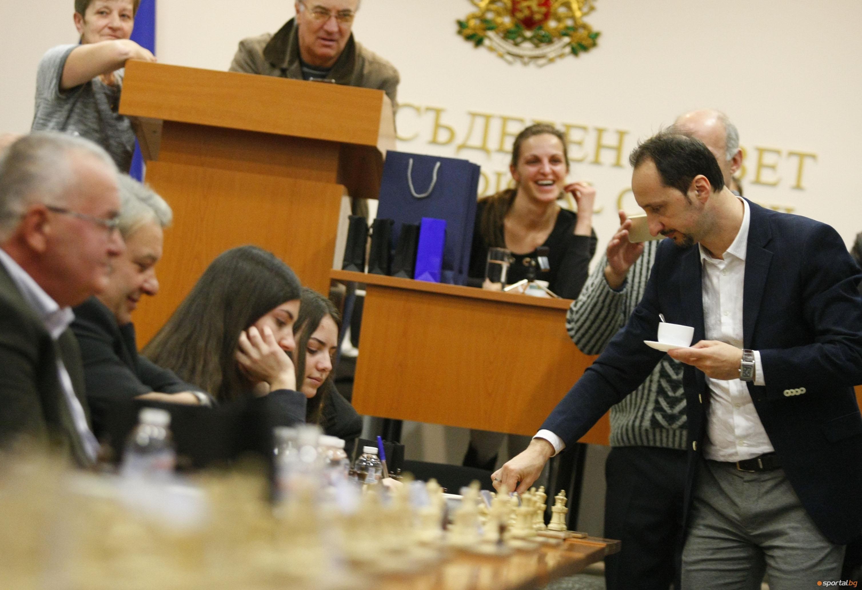 Бившият световен шампион по шахмат Веселин Топалов е обявен за