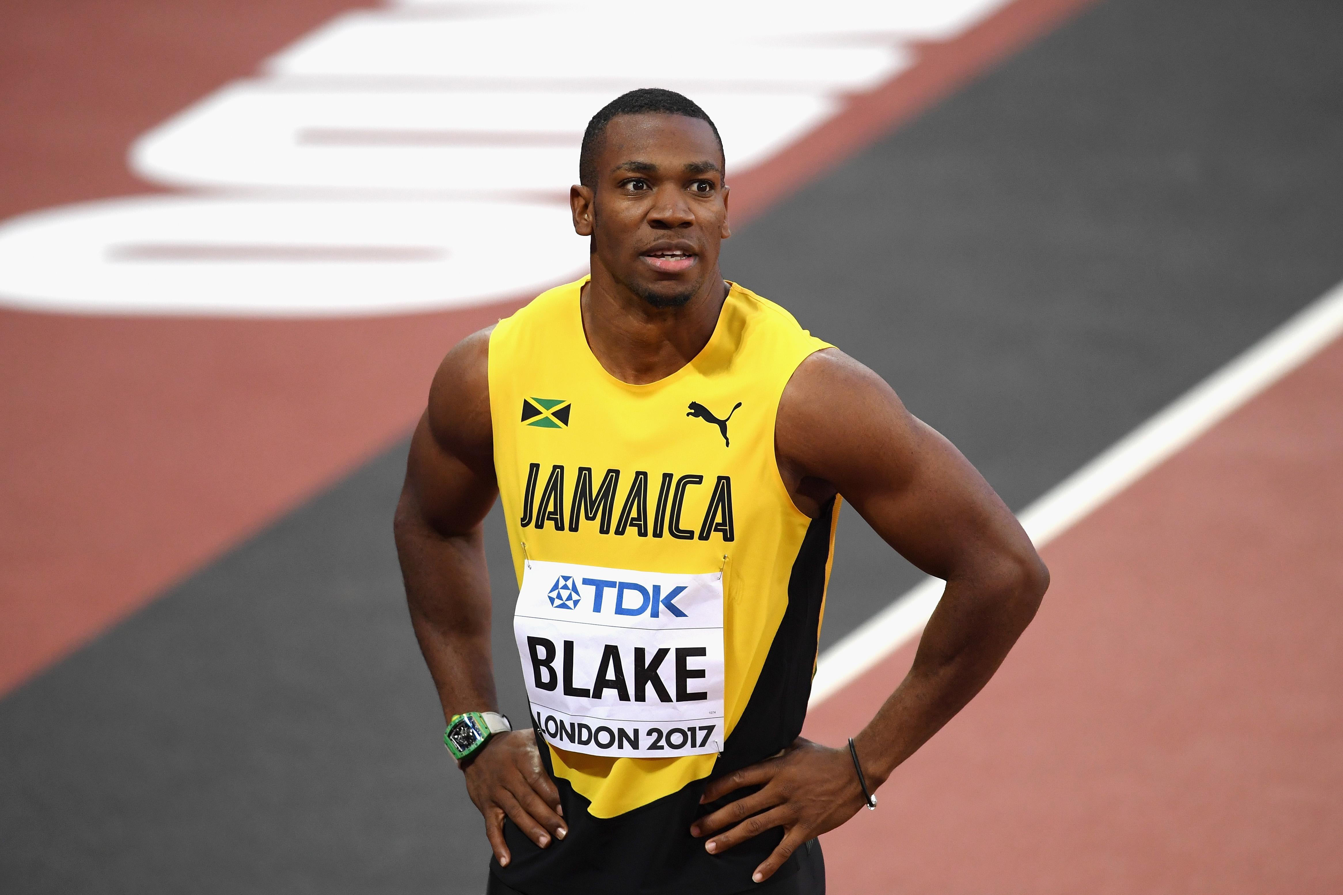 Световният шампион на 100 метра от Дегу 2011 Йохан Блейк