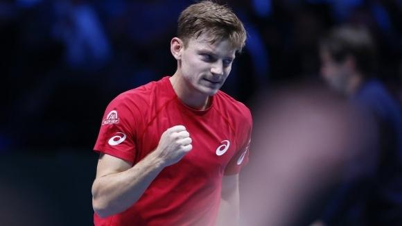 Давид Гофен победи Жо-Вилфред Цонга със 7:6 (5), 6:3, 6:2