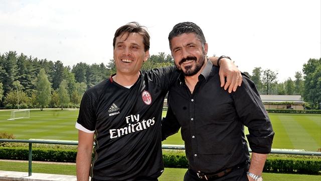 Досегашният старши треньор на Милан Винченцо Монтела пожела успех на