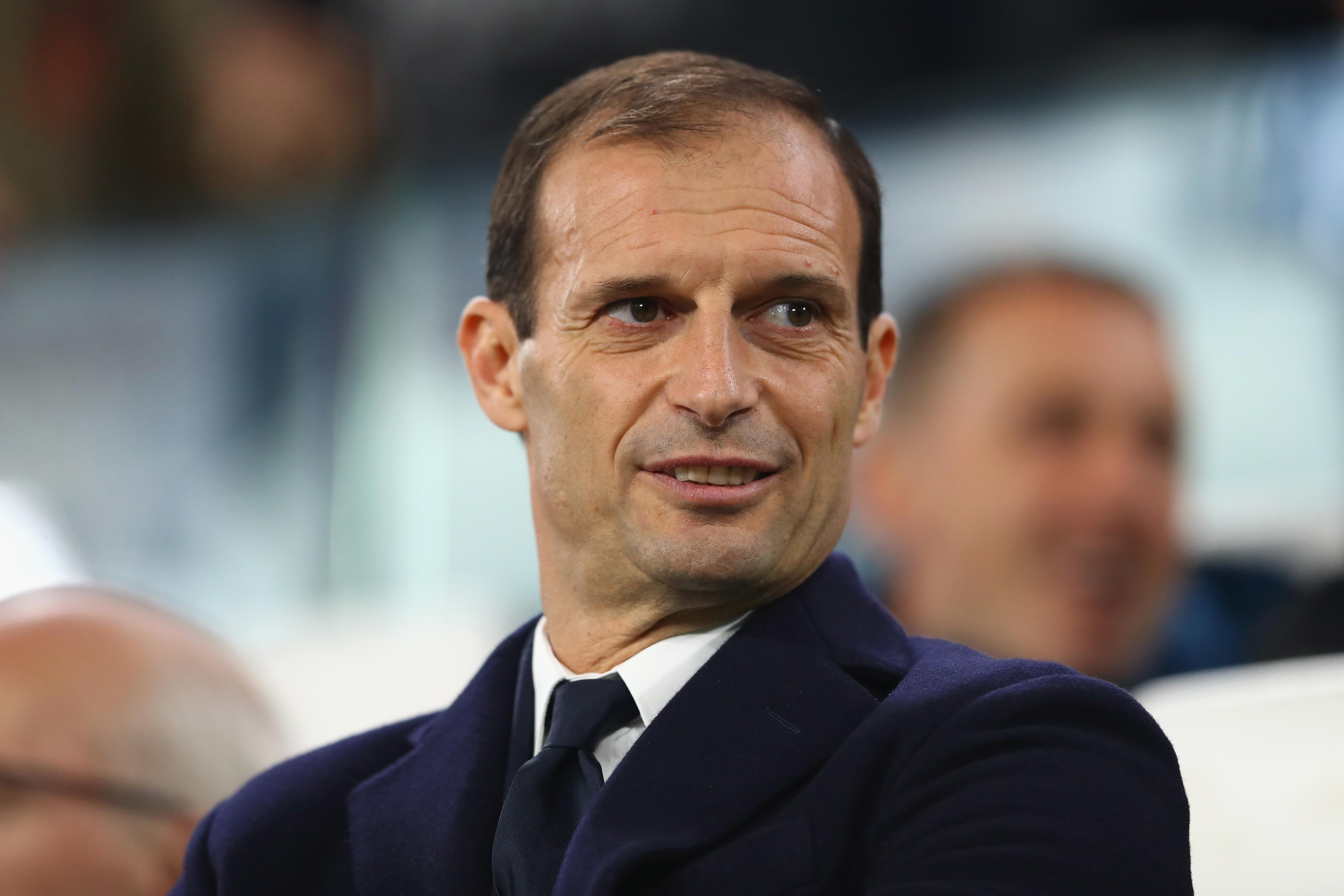Старши треньорът на Ювентус Масимилиано Алегри не се притеснява от