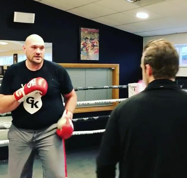 Снимка: Тайсън Фюри обясни как ще бие Антъни Джошуа