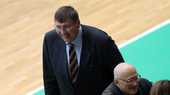 Президентът на БФБаскетбол Георги Глушков беше впечатлен от мъжката игра