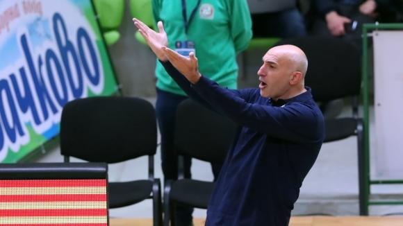 Селекционерът на мъжкия национален отбор на България по баскетбол Любомир