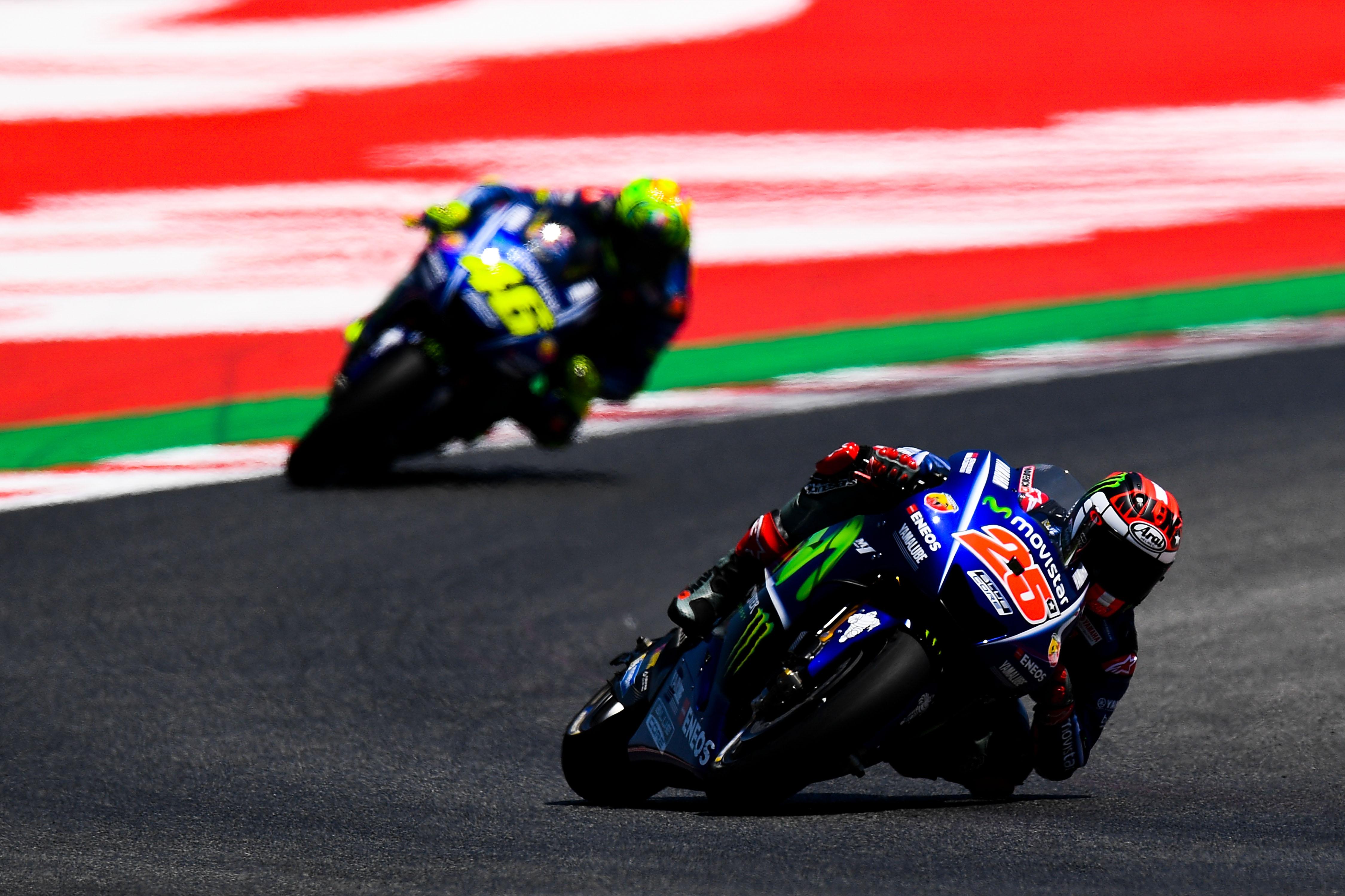 Дуото на Yamaha Валентино Роси и Маверик Винялес приключиха официално