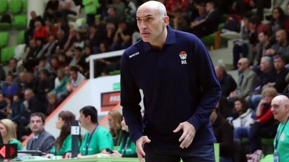 Любомир Минчев не бе особено доволен от играта на България,
