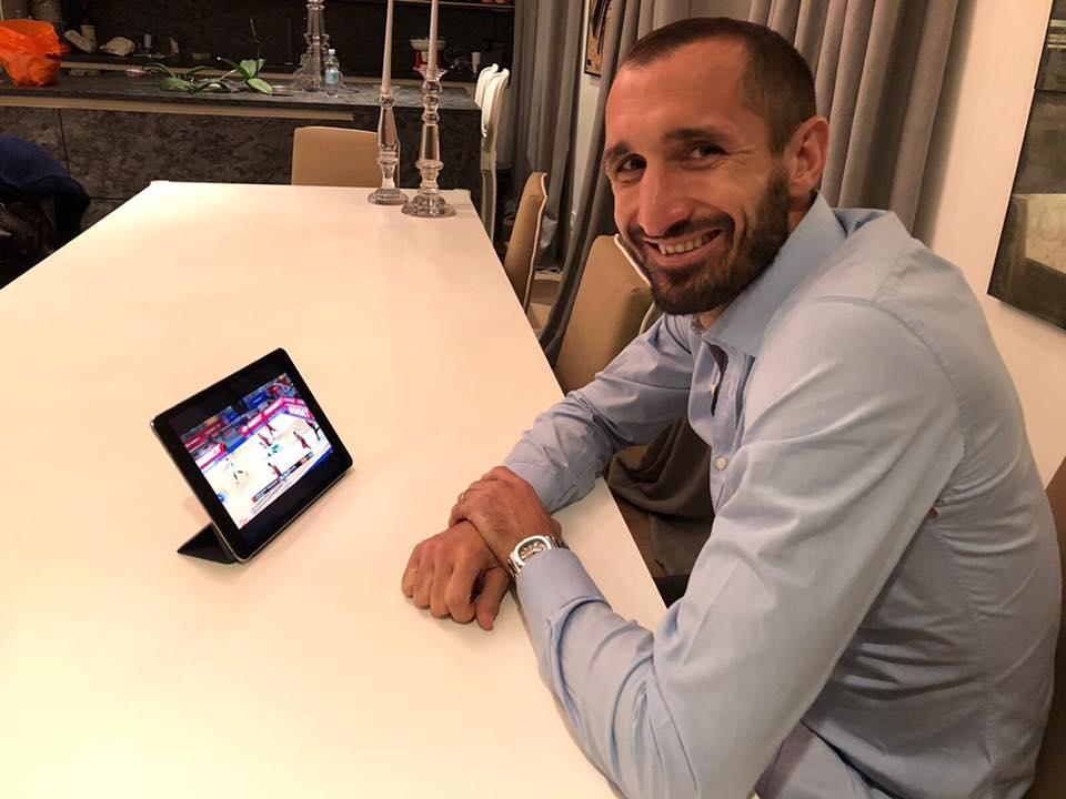 Защитникът на Ювентус Джорджо Киелини даде рецептата за успех в