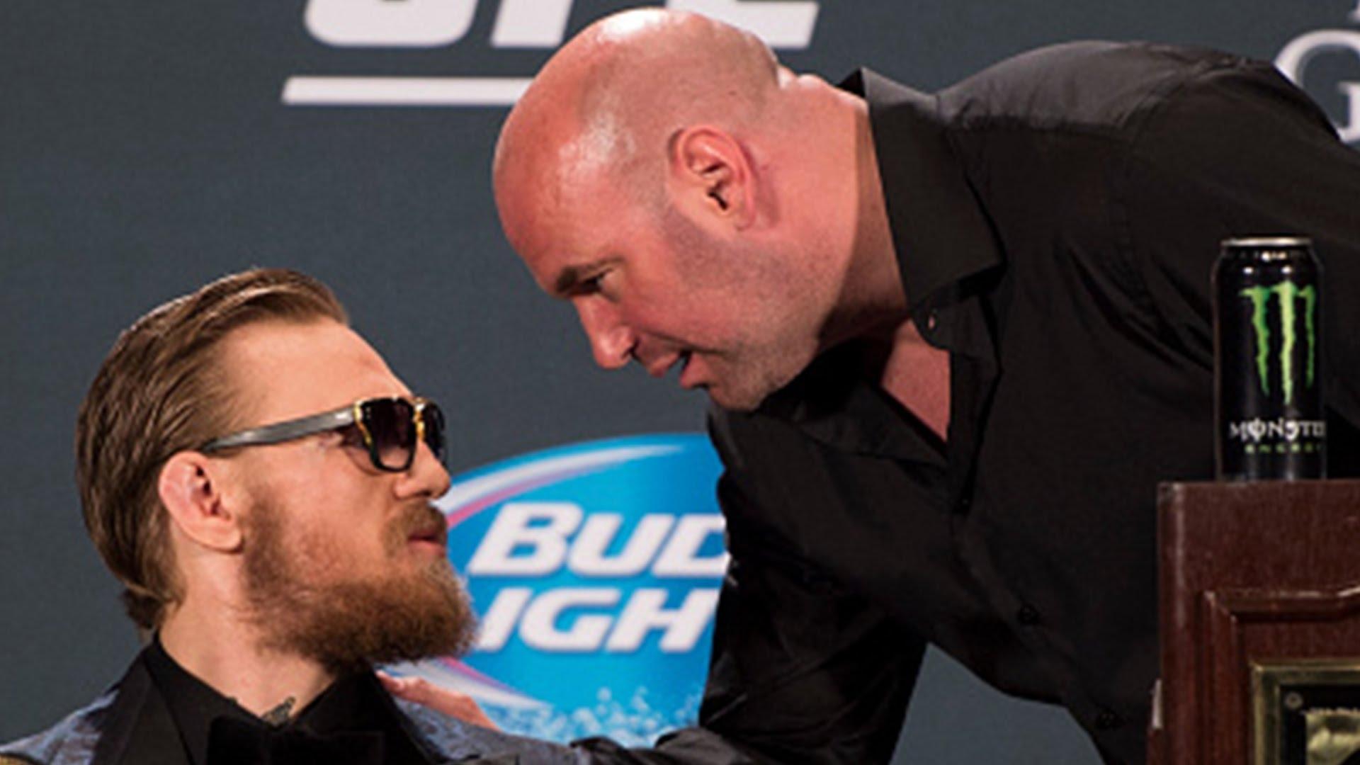 Президентът на UFC Дейна Уайт за пръв път разкри, че