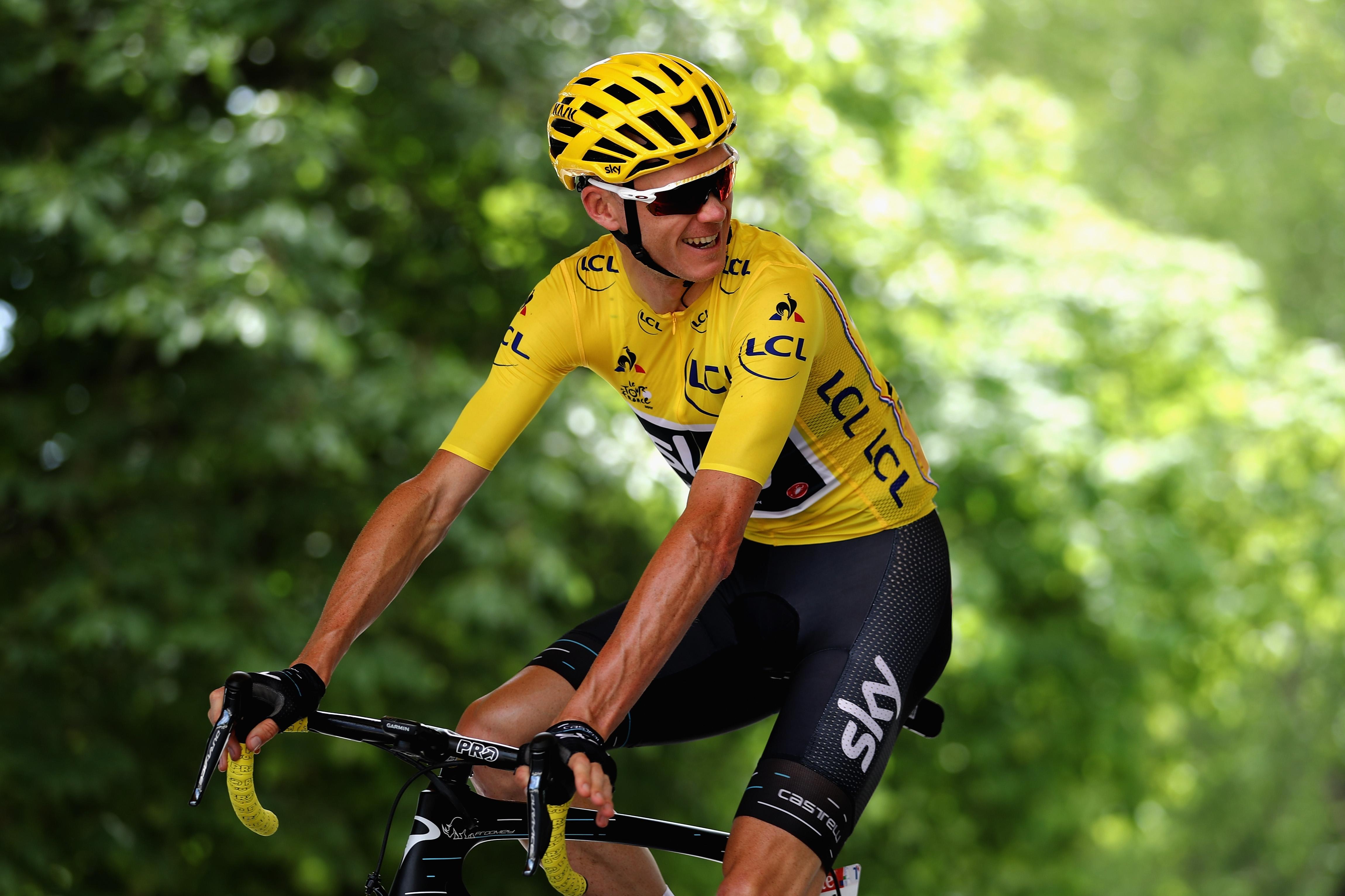 Крис Фрум ще участва в колоездачната обиколка на Италия през