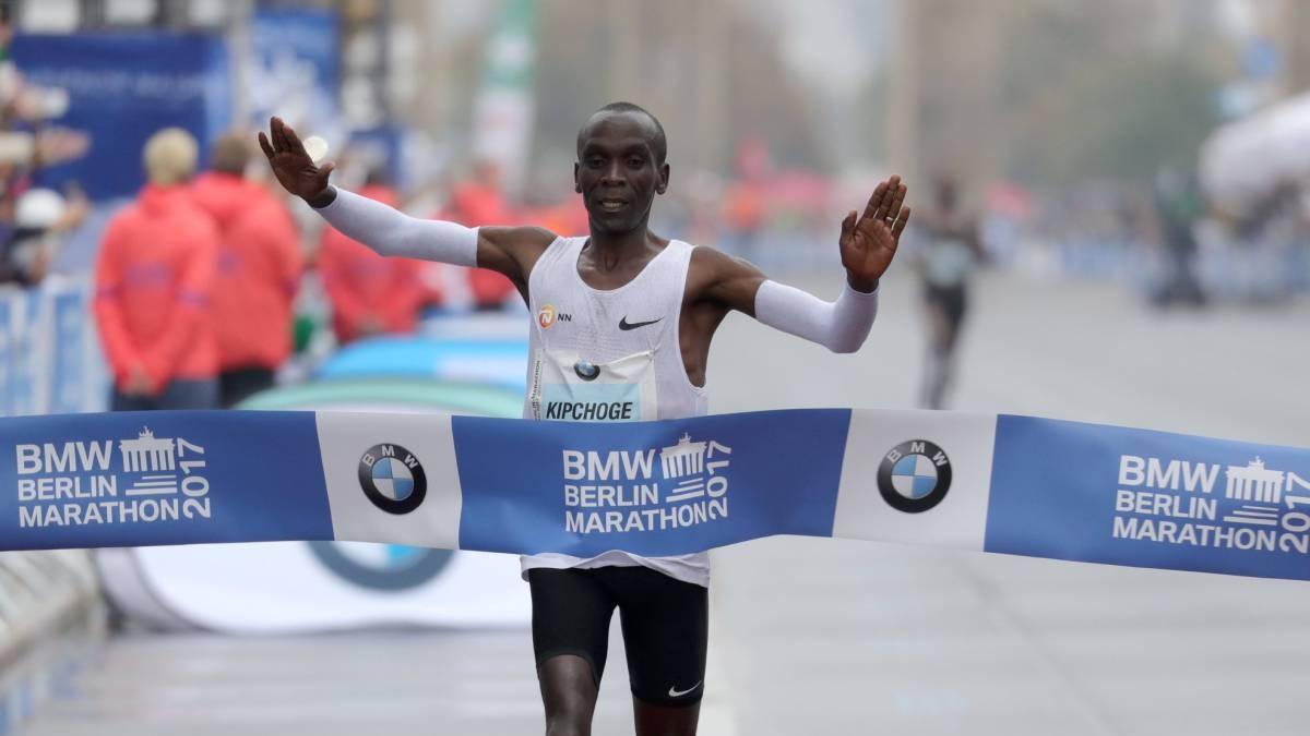 Олимпийският шампион Елиуд Кипчоге от Кения ще участва в лекоатлетическия