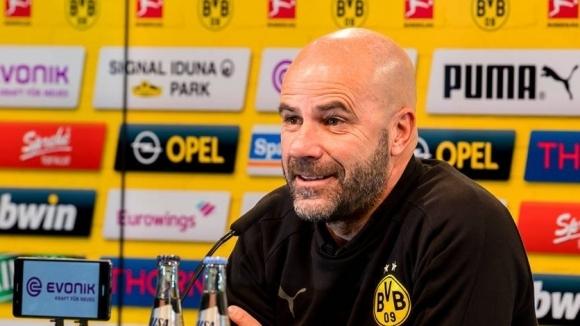 Треньорът на Борусия (Дортмунд) Петер Бос се надява футболистите му