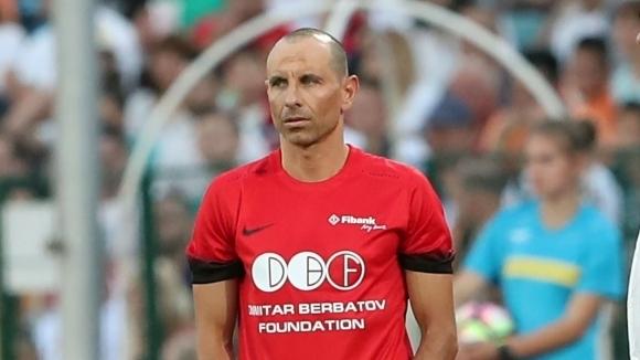 Футболната звезда от близкото минало Мартин Петров, който миналата седмица