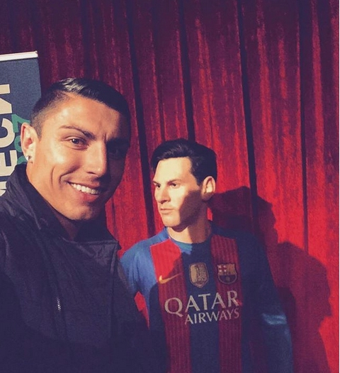 Явно приликата между Кристиано Роналдо и соченият за негов двойник