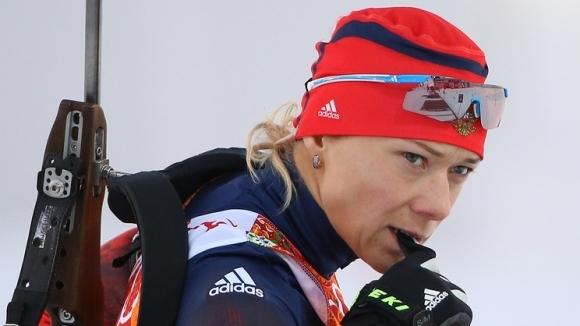 Международният олимпийски комитет (МОК) анулира резултатите на руската биатлонистка Олга