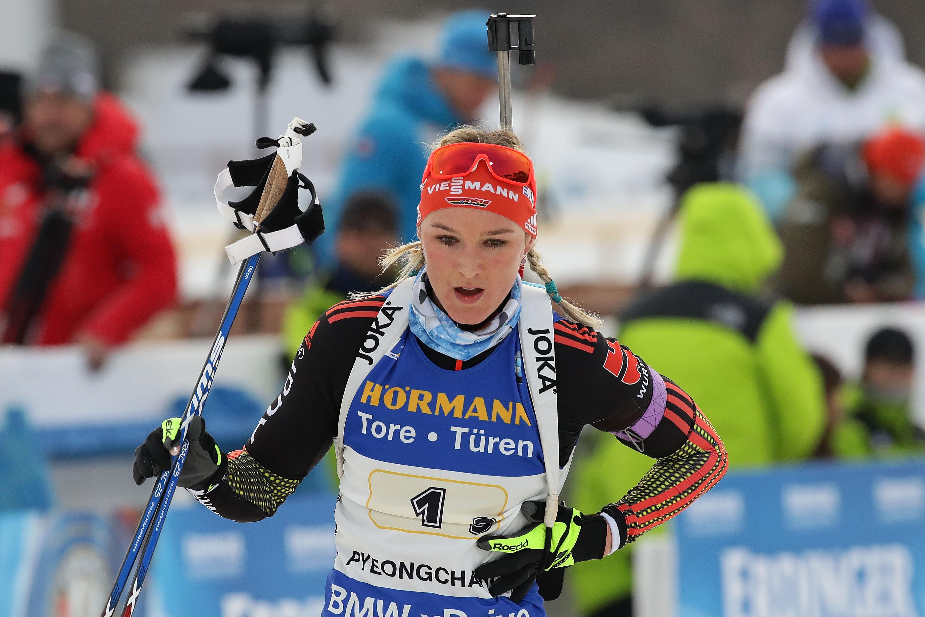 Денизе Херман спечели първия спринт при жените за сезона от