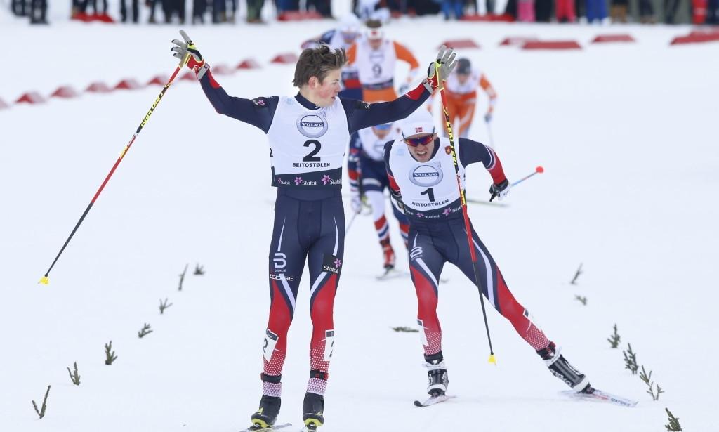 Норвежецът Йоханес Клебо спечели спринта в Лилехамер за мъже, втори