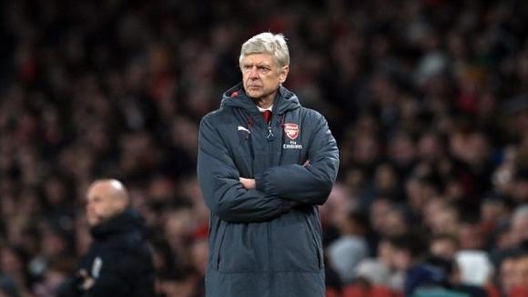 Мениджърът на Арсенал Арсен Венгер нямаше как да е щастлив