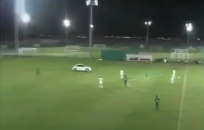 Зрителите на мача между младежките отбори на Ал-Джазира и Ал-Ахли