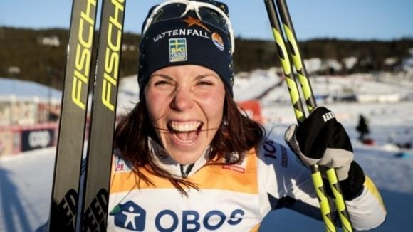 Шведката Шарлоте Кала спечели скиатлона в Лилехамер, пети старт от