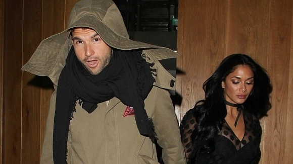 Снимка: Нащракаха Гришо и Никол по време на срещата им в Лондон