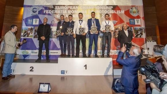 Снощи в Букурещ бяха връчени наградите на шампионите в BMU