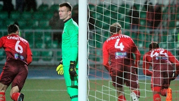 Снимка: Петър Занев и Амкар претърпяха тежка загуба в Русия